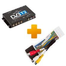 Цифровой тюнер DVB T2 и кабель подключения для мониторов Toyota Touch 2 Entune - Краткое описание