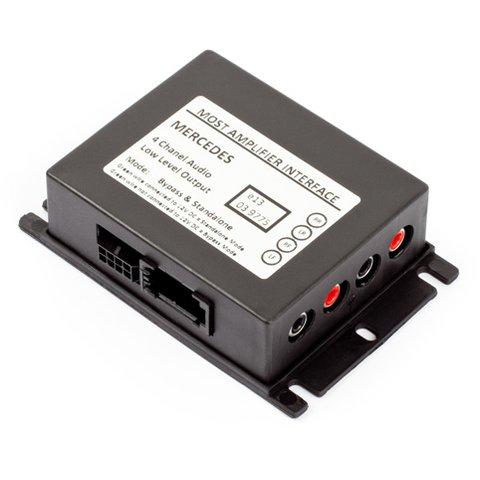 Interface para amplificador MOST para Mercedes Benz