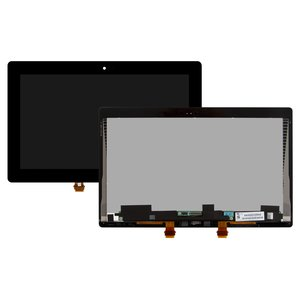 LCD Microsoft Surface RT 2, (black, with touchscreen)