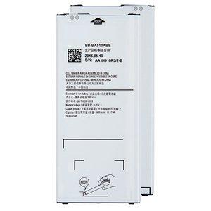 Battery EB-BA510ABE compatible with Samsung A510 Galaxy A5 (2016), (Li-ion, 3.85 V, 2900 mAh)