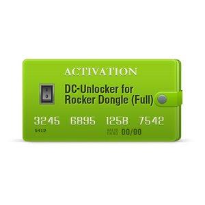 DC-Unlocker Activation for Rocker Dongle (Full)