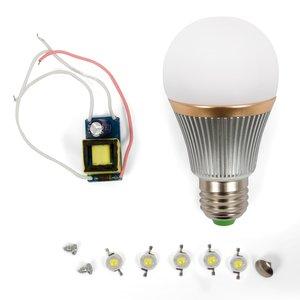 LED Light Bulb DIY Kit SQ-Q22 5 W (warm white, E27)