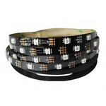 RGB LED Strip SMD5050, WS2812B (with controls, IP20, 5 V, 30 LEDs/m, 5 m)