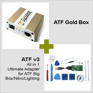ATF Gold Box + Adaptador JTAG todo-en-uno ATF-V3
