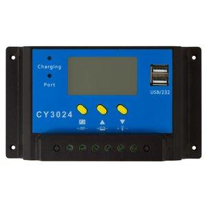 Контроллер зарядки фотомодуля PVI-PWM-30A (30 A)