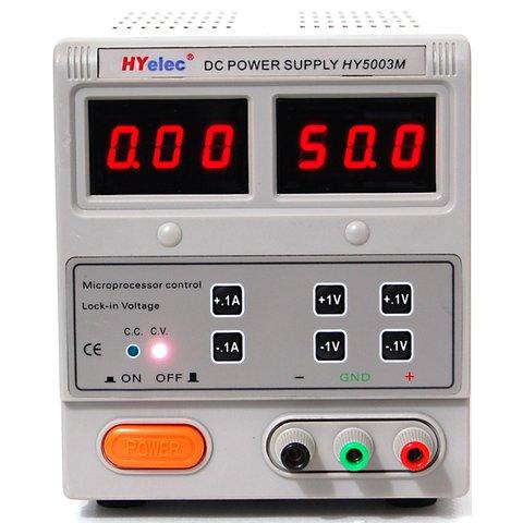 Регулируемый блок питания HYelec HY5003M