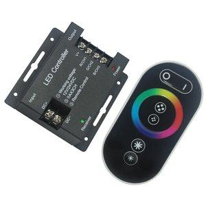 Контроллер c тачпультом HTL-040 (RGB, 5050, 3528, 216 Вт)