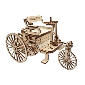 Механічний 3D-пазл Wood Trick Перший автомобіль