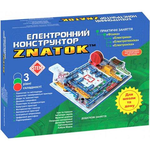Электронный конструктор ЗНАТОК Школа (999+ схем)