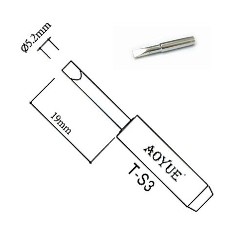 Soldering Iron Tip AOYUE T S3