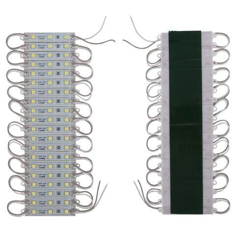 LED Strip Module 20 pcs. SMD 5050 3 LEDs, white, adhesive, 1200 lm, 12 V, IP65