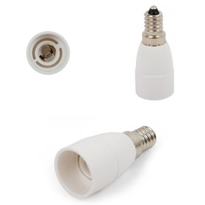 Base Adapter (E14 to E14, white, 68 mm)